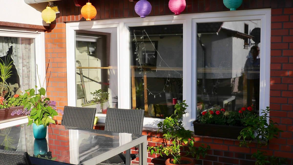 Ferienwohnung mit Terrasse in der Lausitz
