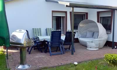 Große Ferienwohnung mit Terrasse
