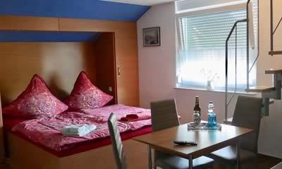 Kleine Ferienwohnung moderne Ausstattung